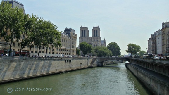 Notre Dame Paris-view from the Seine