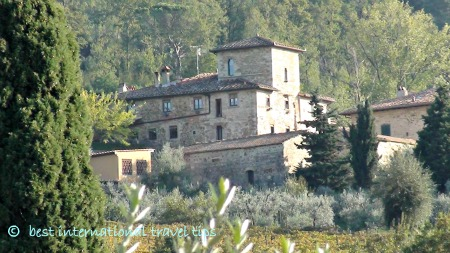 romantic travel destination-Tuscany
