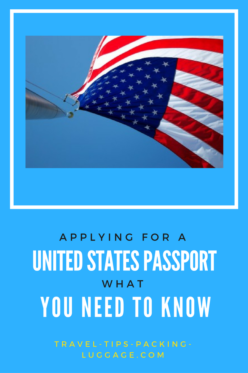 United States Passport application